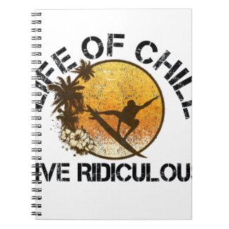 Cadernos vida do frio