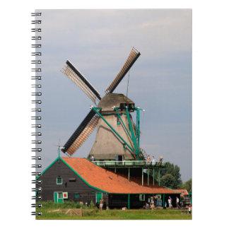 Cadernos Vila holandesa do moinho de vento, Holland 3