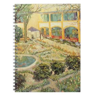 Cadernos Vincent van Gogh | o jardim do asilo em Arles