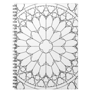 Cadernos Vitral dos rosas