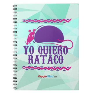 Cadernos Yo Quiero Rataco