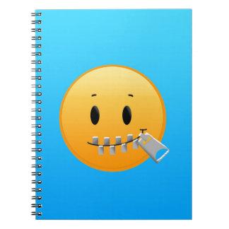 Cadernos Zipper Emoji