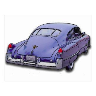 Cadillac 1949 Sedanette Cartão Postal