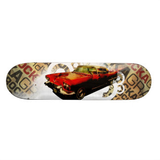 Cadillac do vintage - skate personalizado