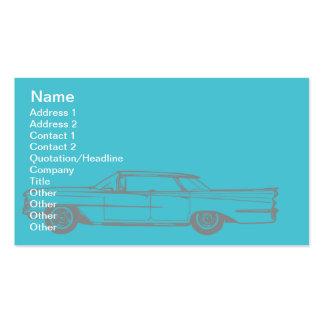 Cadillac - negócio cartão de visita
