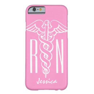 Caduceus cor-de-rosa do caso | do iPhone 6 da Capa Barely There Para iPhone 6