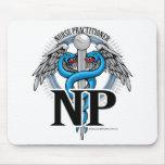 Caduceus do azul do NP Mousepad