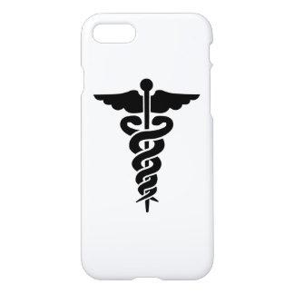 Caduceus médico do símbolo capa iPhone 7