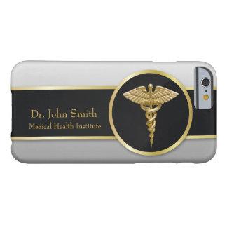 Caduceus médico profissional do ouro - capas de