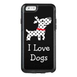 Cães bonitos do amor de I