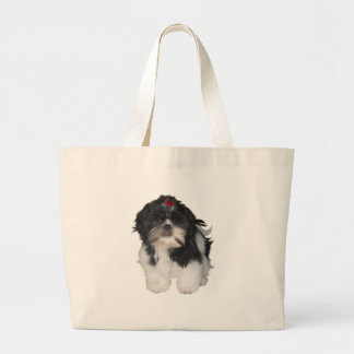 Cães de filhote de cachorro de Shitzu Shih Tzu Bolsa De Lona