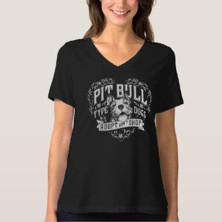 Cães do pitbull - adote, não comprar camiseta