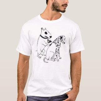 Cães do tatuagem camiseta
