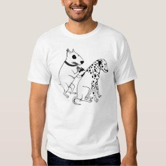 Cães do tatuagem t-shirt