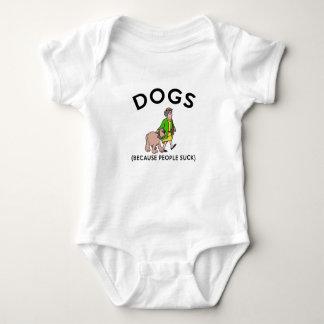 cães porque as pessoas sugam a camisa do presente