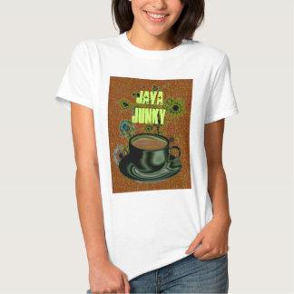 Café/cafeína/toxicómano de Java Camisetas