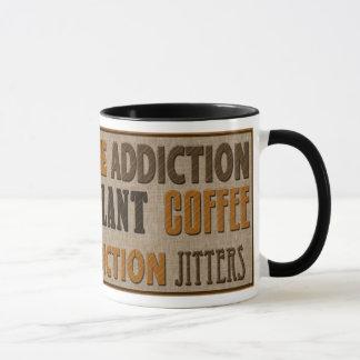 CAFÉ - CANECA DA CAFEÍNA - TEXTO
