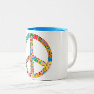 café, chá, paz & mim de podmodify.com canecas