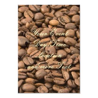 café convite 8.89 x 12.7cm