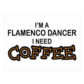 Café da necessidade - Flamenco Cartões Postais