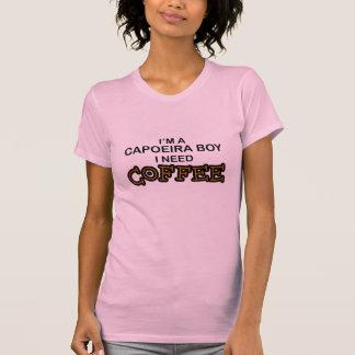Café da necessidade - menino de Capoeira Camiseta