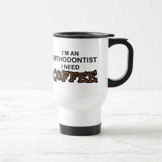 Café da necessidade - Orthodontist Caneca