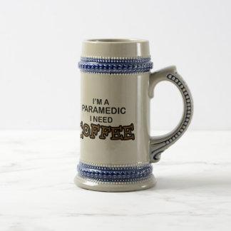 Café da necessidade - paramédico caneca de cerveja