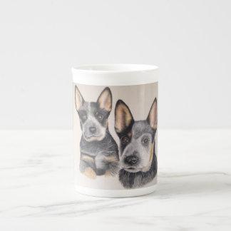 Café de China do filhote de cachorro/copo de chá Xícara De Chá