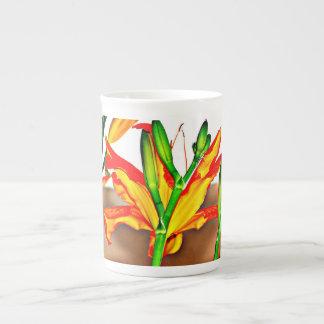 Café de China do lírio de tigre/caneca copo de chá Xícara De Chá