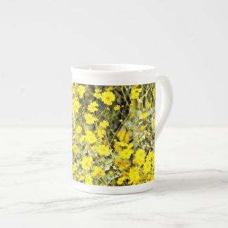 """Café de China dos """"Wildflowers""""/caneca/copo do chá Xícara De Chá"""