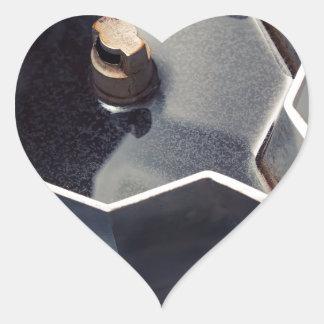 Café de Moca Adesivo Coração