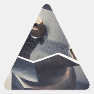 Café de Moca Adesivo Triangular
