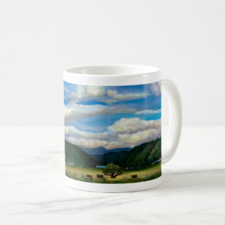 Café de Quincy ou caneca do chá com arte original
