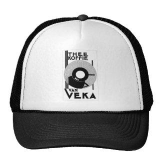 Café de Van Veka Koffie - anúncio retro do vintage Boné