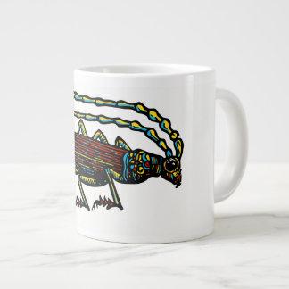 Café do besouro caneca de café grande