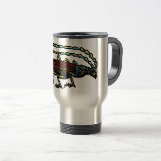 Café do besouro caneca térmica