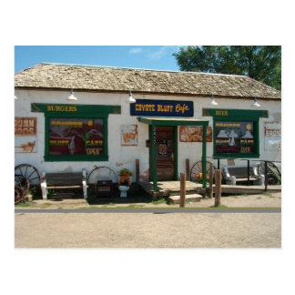 Café do blefe do chacal cartão de Amarillo, Texas