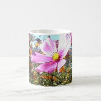 Café dos wildflowers do verão/caneca do chá caneca de café