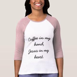 Café e Jesus Camiseta