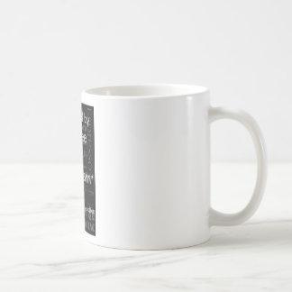 Café e optimismo caneca de café