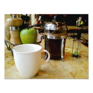 café etc. convite 10.79 x 13.97cm