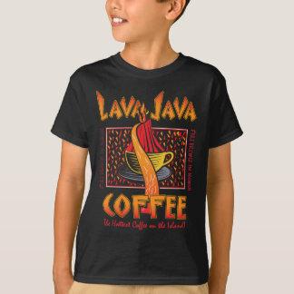 Café havaiano de Java da lava Camiseta