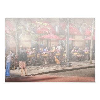 Café - Hoboken, NJ - trindade do café Convites Personalizados
