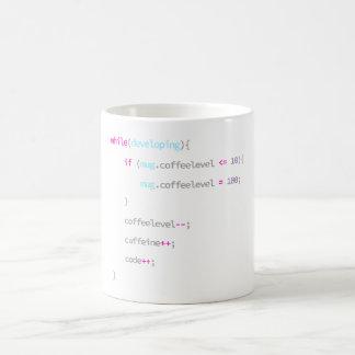 Café para codificar - a caneca do programador