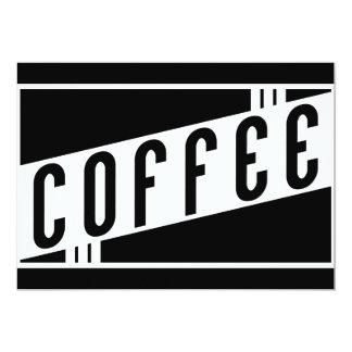 café retro convite