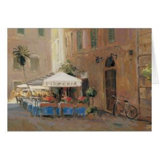 Café Roma Cartão Comemorativo