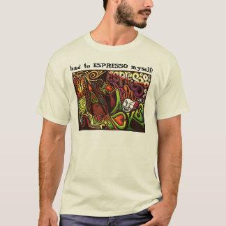 CAFÉ você mesmo! Camiseta