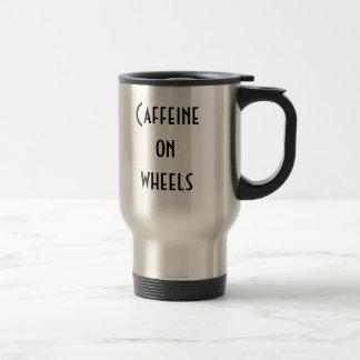 Cafeína nas rodas caneca térmica
