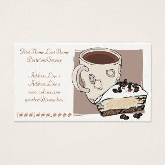 Cafetaria Cartão De Visitas