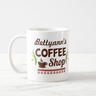 Cafetaria conhecida customizável caneca de café